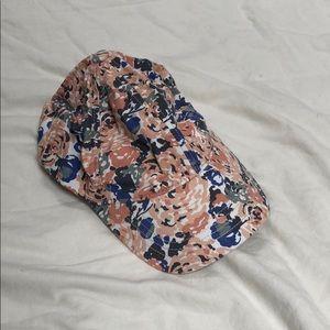 Floral baseball hat